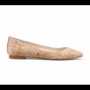C. Wonder Cork Ballet Flats Size 6.5